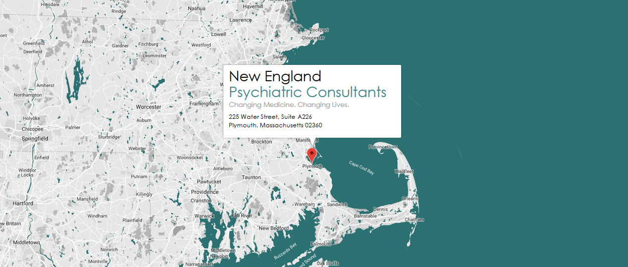 New England Psychiatric Consultants 225 Water Street, Suite A140 Plymouth, Massachusetts 02360